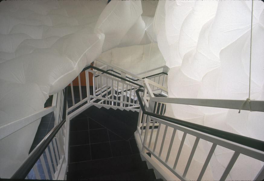 Cake Bridges And Stairways Made Of Shells